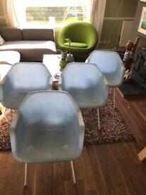 Habitat chairs x 4