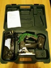 Hitachi 18v jigsaw battery, charger
