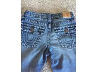 Boys age 12 true religion jeans