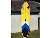 Naish Mana GT SUP. This is the lightweight version, comes with rail protector fitted since new