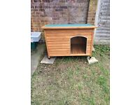 BRAND NEW DOG KENNEL Never been used brought but my dog would go inside