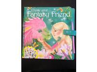 Create Your Own Fantasy Friend Book set