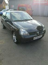 2008 renault clio 1.2 campus 58k long mot