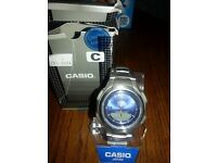 casio solar powered watch