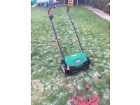 Qualcast lawn scaficfer electric new without box