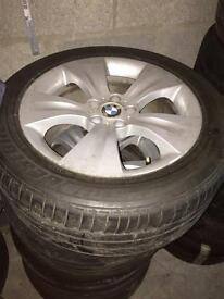 BMW X5 Alloys with very good tyres