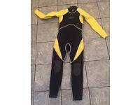 Child's Lomo full length wetsuit size clothes suit 10-12