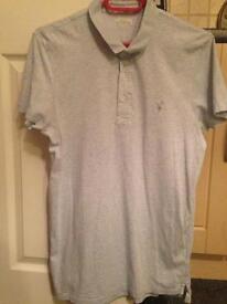 Men's all saints polo shirt