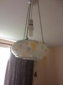 Ceiling lamp shades. Deco