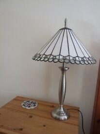Tiffany Style Tall Lamp