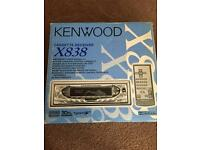 BRAND NEW kenwood x838 in box and never used