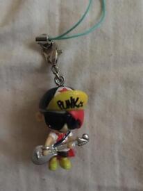 Pink kid key ring