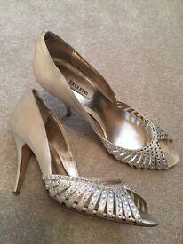 Dune size 5 diamonte heeled shoes