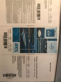 O2 one ticket section 103 Row A for sale £150