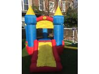 Bouncy castle with slide kids