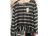 Womens top large (14) brand new (Gap).