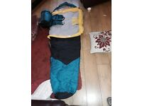 Two ProAction Mummy Sleeping bags for sale.