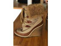 CHLOE heeled winter boots - Size EU 40 / UK 7