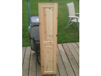 Pine panelled doors various sizes