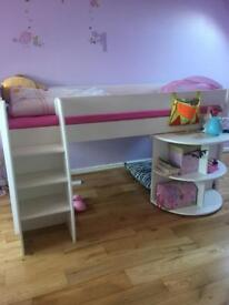 Mid rise girls bed