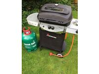 LARGE BARBEQUE WITH FULL PATIO GAS CYLINDER AND LABA ROCK £50 CAN DROP OFF LOCAL