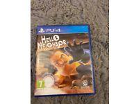 PS4 Hello neighbour