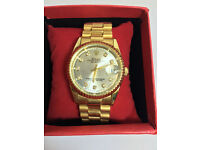 Rolex Datejust Gold, Automatic Watch, Metal Strap 1st Class Postage Available*