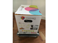 Bosch Tassimo hot drinks machine + capsule storage drawer