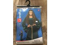 Medieval maid fancy dress costume - size S fits 8/10