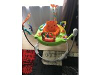 Fisher- Price Roaring Rainforest baby jumperoo with music