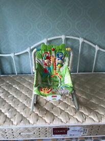 Fisher price rocker chair.