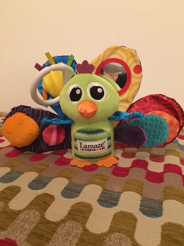 Lamaze peacock toy