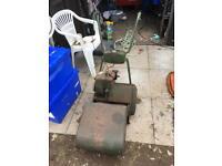 """Atco vintage 14"""" cylinder mower"""