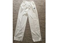 BOYS GUNN & MOORE CRICKET TROUSERS
