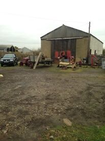YARD AND UNIT/ LAND TO LET