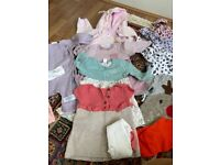 Mint condition bundle of baby girl clothes 3-6 months