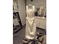 Ivory 2 Piece Wedding dress - Size 12 - by Jenny Packham - Unworn