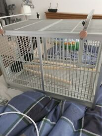 Bird cage for large birds