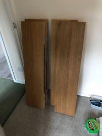 Ikea Lack Shelves x4 for sale.