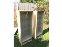 2x kitchen cabinets/shelves
