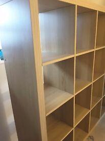 Fantastic condition 16 squares ikea kallax shelves.