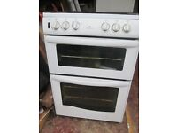 Free Gas Cooker with separate grill section and glass lid