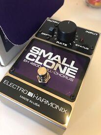 Electro harmonic small clone pedal