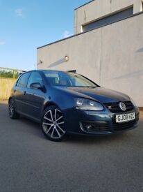 2008 Golf 2.0 TDI GT SPORT 170BHP, Full service book VW, Lomg Mot.