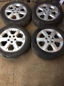 Genuine Vauxhall Astra set of 4 alloy wheels