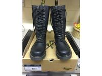 Dr.Martens Shower Drench 14 Hole AirWair Ladies Wellington Boots size 6