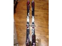 New Womans K2 FreeLuv Skis 156cm