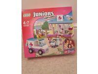 Brand new Lego juniors vet clinic