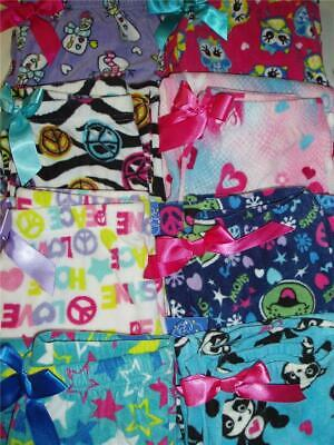Jelli Fish Girls Fleece Pajama Sleep Bottoms (Fleece Girls Sleep Pant)