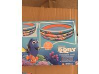 Dora swimming pool. Dora 13 piece puzzle. Disney beach balls